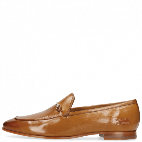 Loafers Scarlett 22 Pisa Tan Trim Gold
