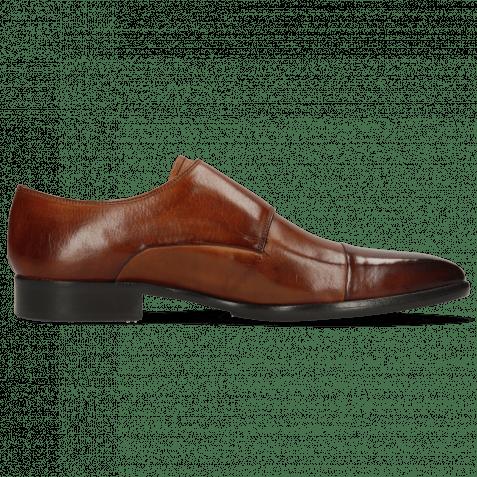 Monk Schuhe Lance 1 Wood Lining Purple