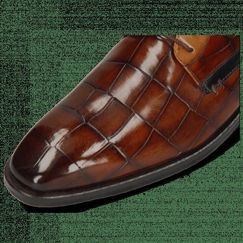 Derby Schuhe Alex 10 Turtle Wood Sand Tan
