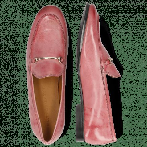 Loafers Scarlett 22 Pisa Rosa Trim Gold
