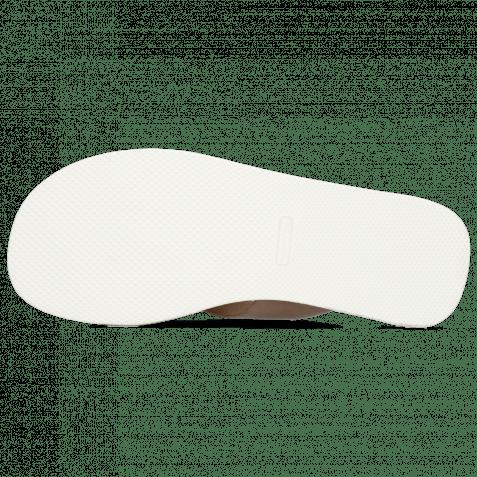 Pantoletten Sam 5 Imola Ash Textile Indonesia Off White