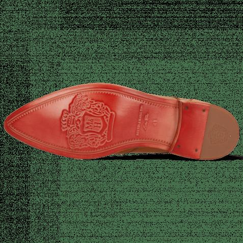 Derby Schuhe Toni 2 Imola Tan Lining