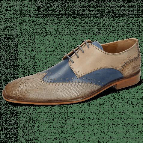 Derby Schuhe Clark 1 Venice Python Digital Wind