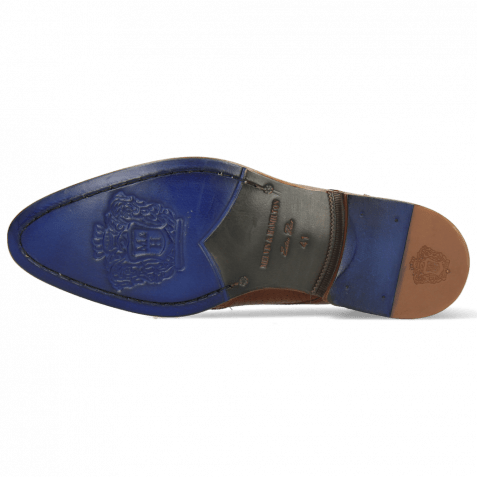 Derby Schuhe Kane 33 Venice Perfo Wood