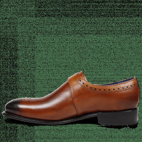 Monk Schuhe Charles 6 Crust Tan LS