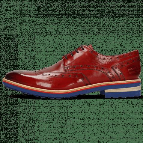 Derby Schuhe Eddy 5 Ruby Lining Rich Tan