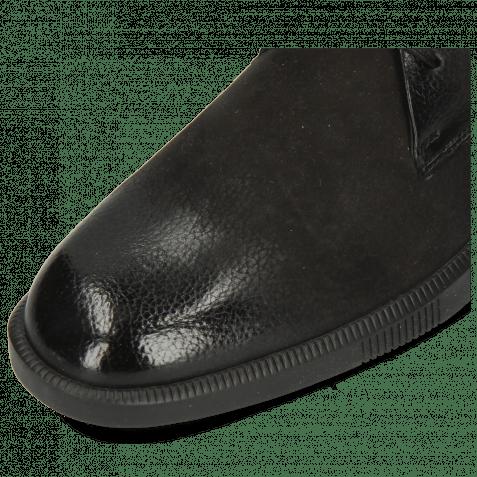 Sneakers Newton 2 Como Black Net Underlay Suede