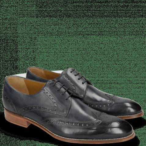 Derby Schuhe Kane 5 Dark Navy