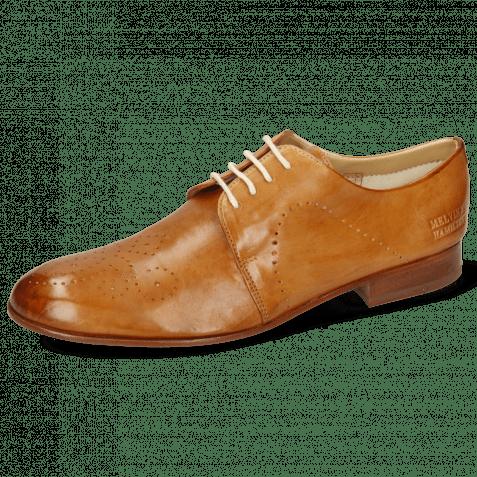 Derby Schuhe Sally 1 Imola Tan Lining