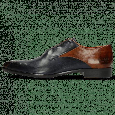 Oxford Schuhe Toni 31 Wood Navy Lining