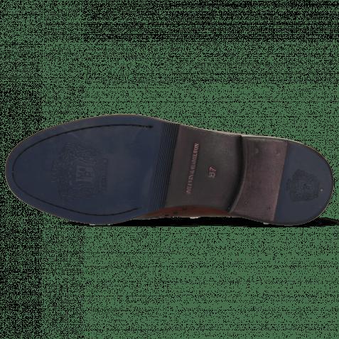 Derby Schuhe Amelie 3 Pisa Wood Lining Nappa