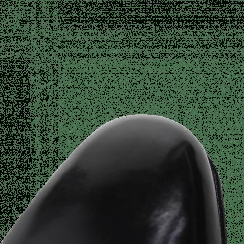 Monk Schuhe Charles 9 Crust Black LS