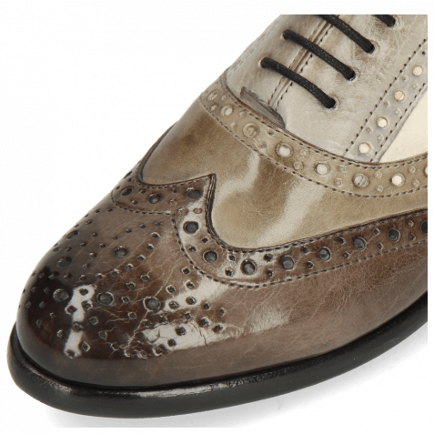 Oxford Schuhe Selina 30 Imola Stone Digital Oxygen Como Off White