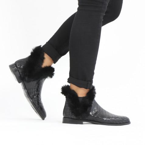 Stiefeletten Susan 92 Crock Fur Lux Black