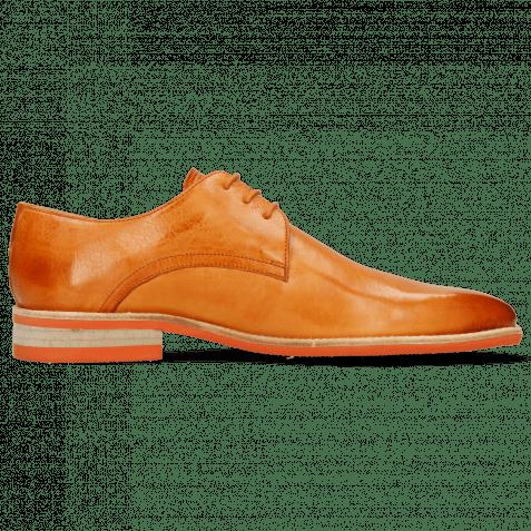 Derby Schuhe Lance 24 Imola Arancio