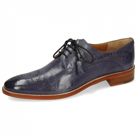 Derby Schuhe Betty 2 Pavia Wind Lining