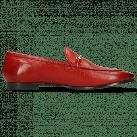Loafers Scarlett 22 Pisa Ruby Trim Gold