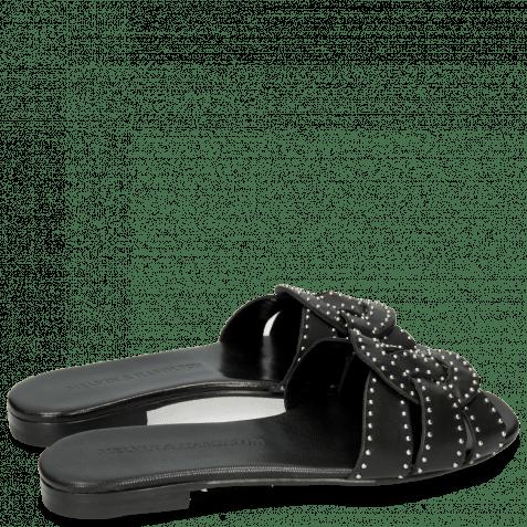 Pantoletten Elodie 13 Salerno Black