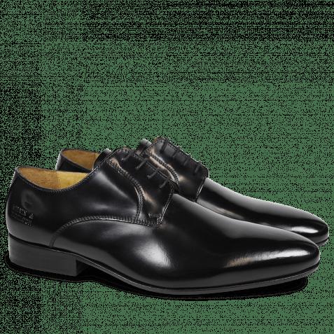 Derby Schuhe Paul 5 Brush Black LS