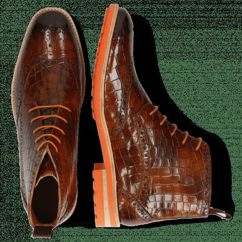 Stiefeletten Eddy 10 Crock Wood Rich Tan Orange