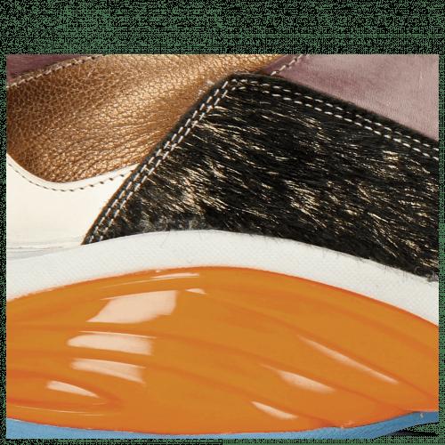 Sneakersy Flo 1 Hairon Gold Orange Vegas White Bordo Cherso Bronze