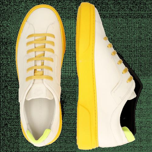 Sneakersy Harvey 35 Vegas White Lycra Yellow