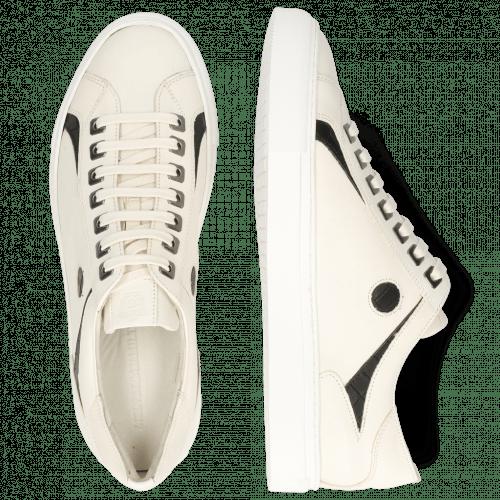 Sneakersy Harvey 9 White Crock Black