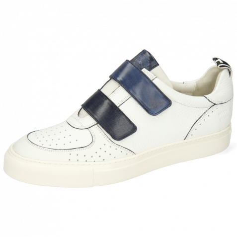 Sneakersy Harvey 28 Milled White Strap Vegas Navy