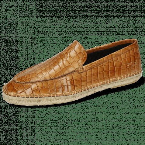Mokasyny Sandro 1 Vegas Crock Sand Stitching