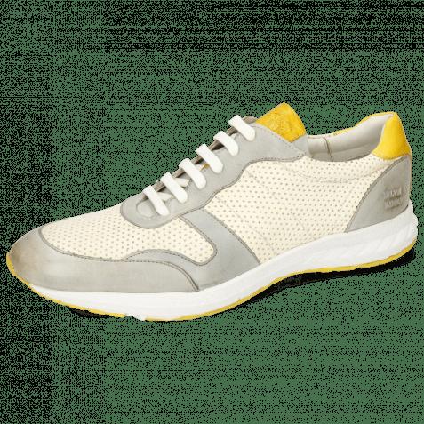 Sneakersy Blair 11 Imola Oxygen Perfo White Sun Tongue