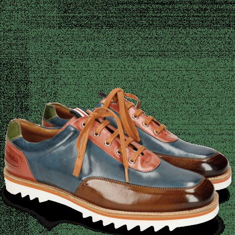 Sneakersy Niven 10 Nougat Mock Navy Earthly Bio Algae