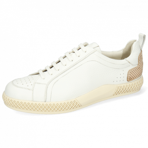 Sneakersy Harvey 36 Milled White TC Natural