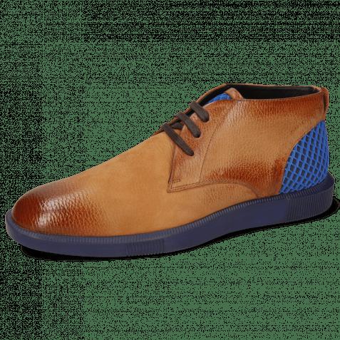 Sneakersy Newton 2 Como Tan Net Navy Underlay Suede