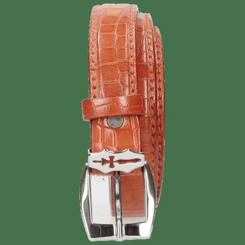 Paski Linda 1 Crock Winter Orange Sword Buckle