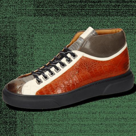 Sneakersy Harvey 13 Ostrich Stone Guanna Satellite Vegas Crock White Tibet Nappa