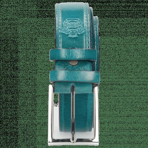 Paski Larry 1 Turquoise Classic Buckle