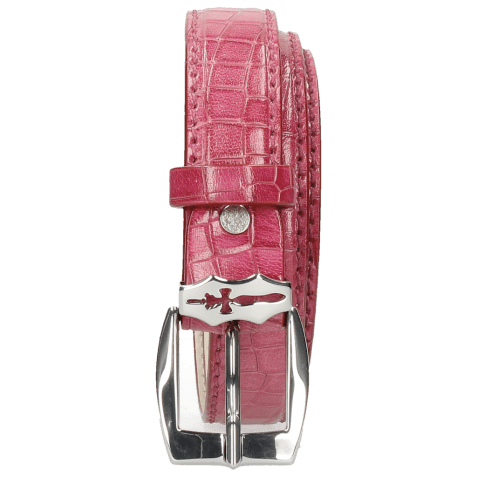 Paski Linda 1 Crock Dark Pink Sword Buckle