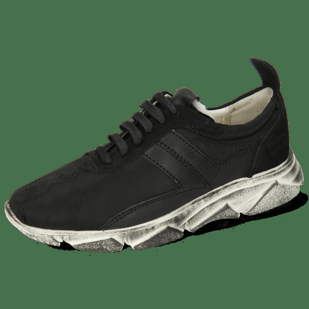 Sneakersy Briana 1 Suede Black Funky Black