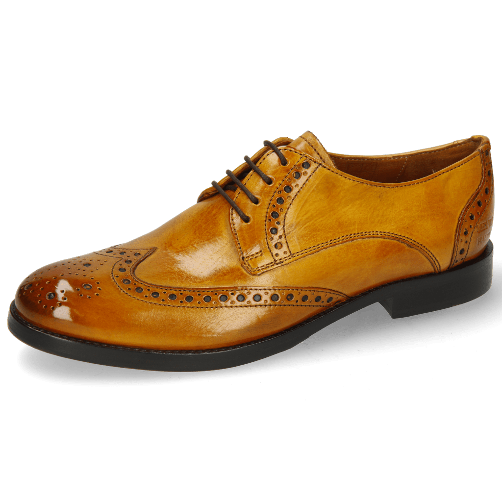 Derby Amelie 3 Indy Yellow Lining Nappa