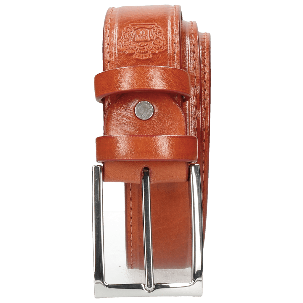 Paski Larry 1 Winter Orange Classic Buckle