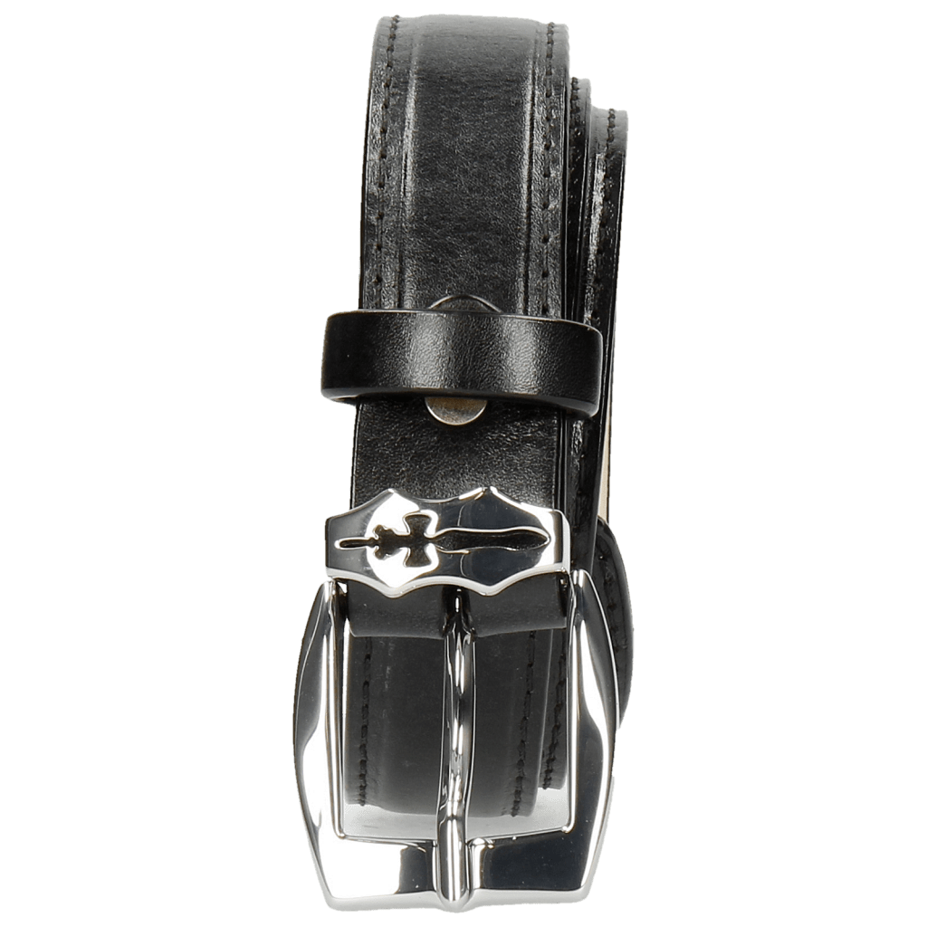 Paski Linda 1 Black Sword Buckle