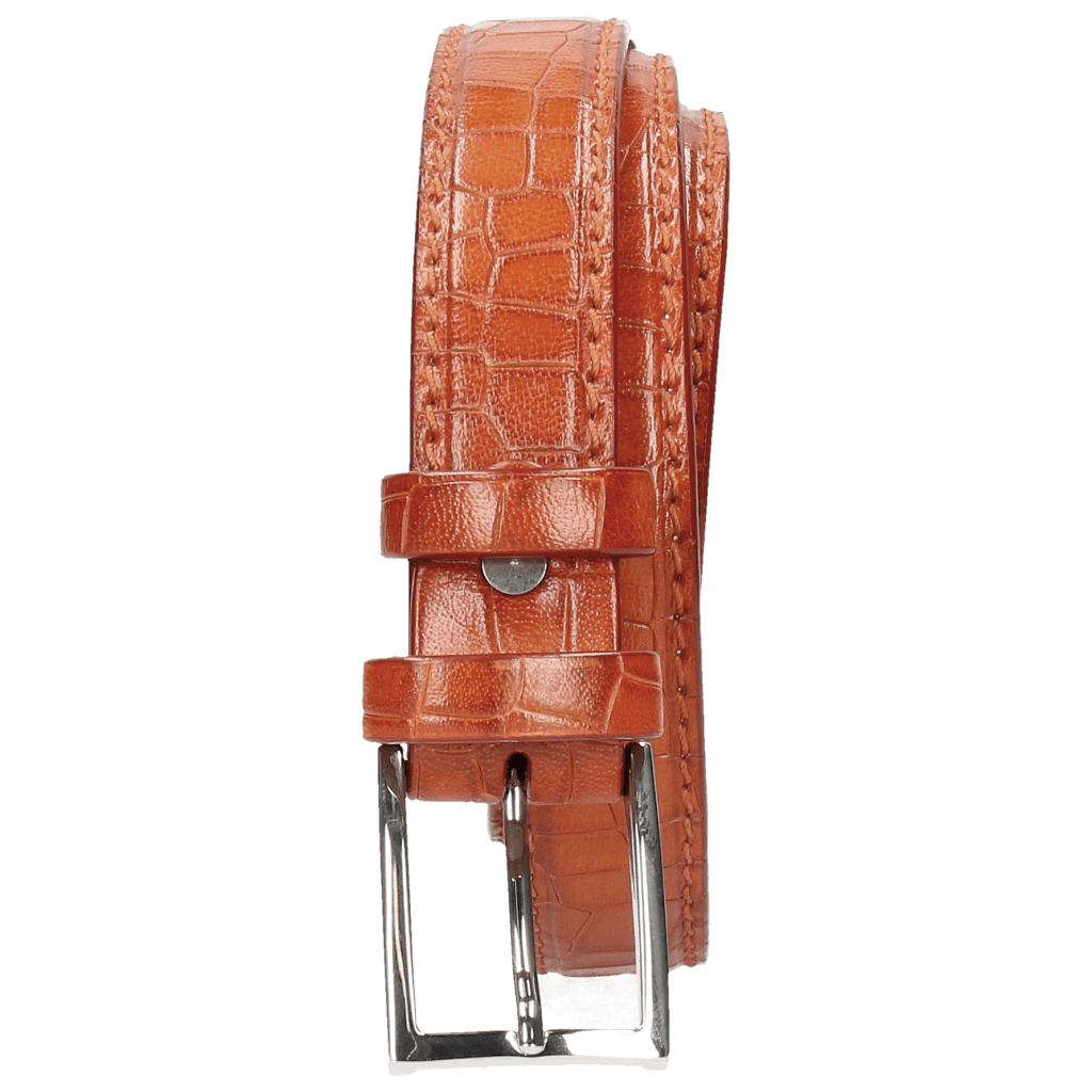 Paski Linda 1 Crock Winter Orange Classic Buckle