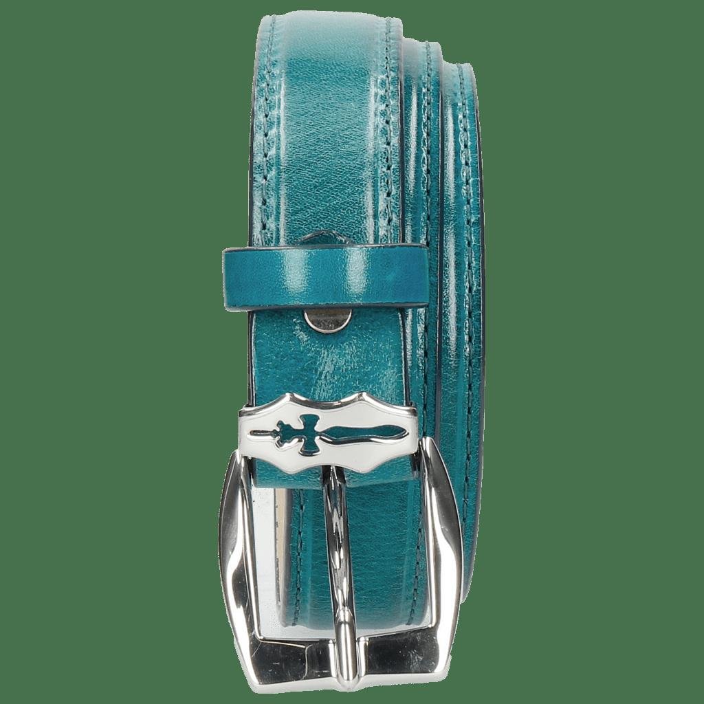 Paski Linda 1 Turquoise Sword Buckle