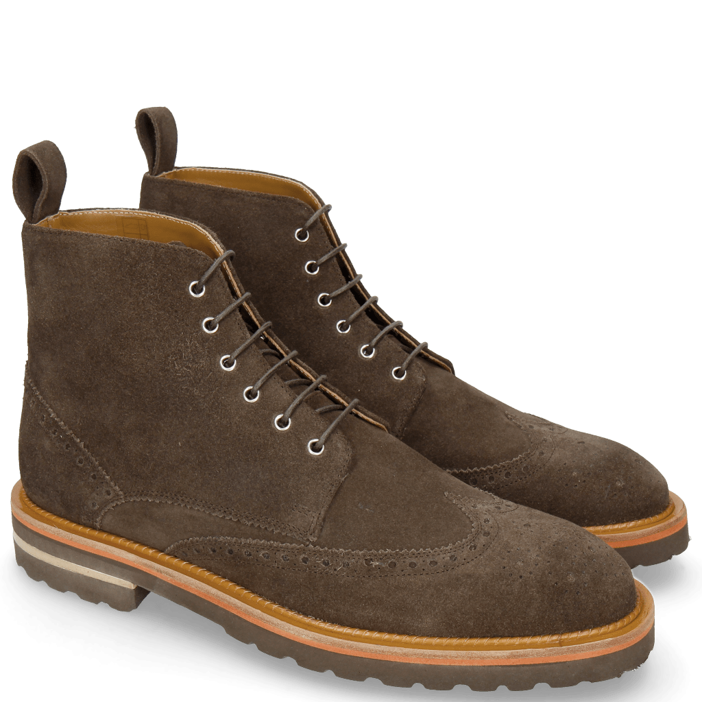 Botki Matthew 26 Suede Brown Lining Rich Tan