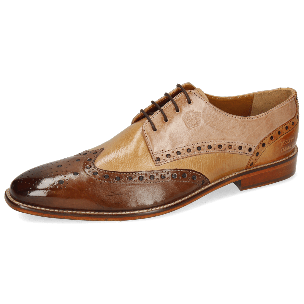 Derby Martin 15 Berlin Mid Brown Sand Make Up Cognac