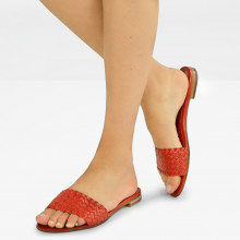 Mule Hanna 26 Woven Red
