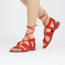 Sandały Sandra 11 Suede Chilena Woven Mastic