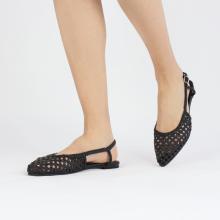 Sandały Alexa 27 Open Weave Black