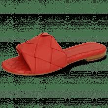 Mule Hanna 67 Nappa Red Lining