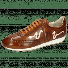 Sneakersy Rocky 5 Pisa Wood Punch Underlay Nude